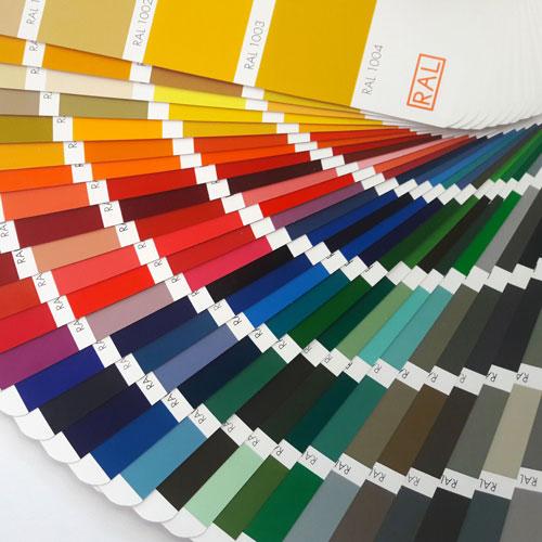 Ral Karte: Farben